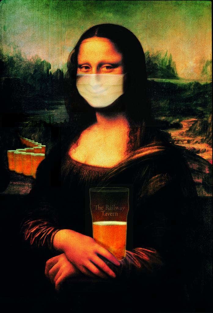 The Railway Mona Lisa