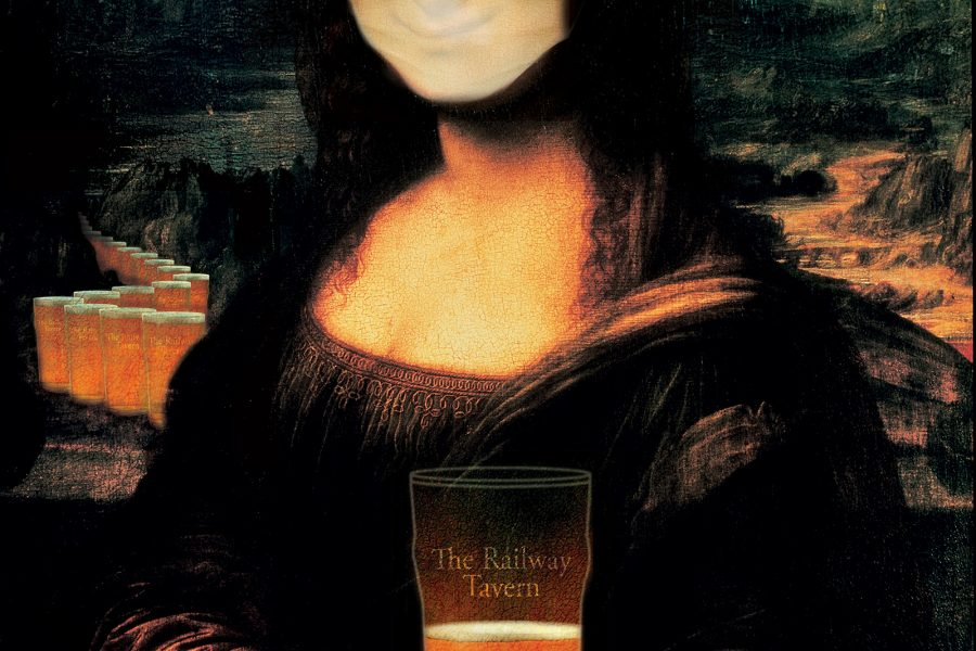 Mona Lisa Gets A Mask & Rainbow